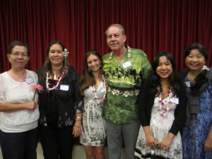 AAUW Windward O'ahu Branch Scholarship Winners attended our luncheon on Saturday, May 4 accompanied by their parents. Other winners not able to attend are Angelina Diep, Lisa Ishikawa and Ashley Sonoda.